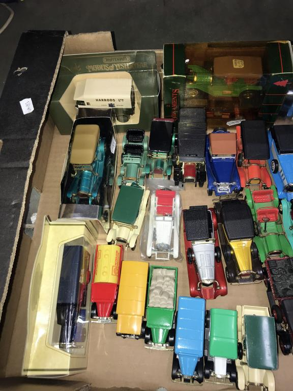 A good selection of unboxed 1960/70/80's Matchbox models of yesteryear including Lledo - Image 2 of 4