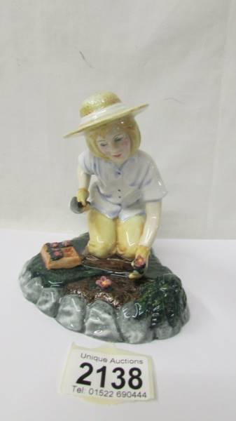 A Royal Doulton figurine - Gardening Time HN3401.