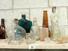 A good lot of 50's/60's bottles