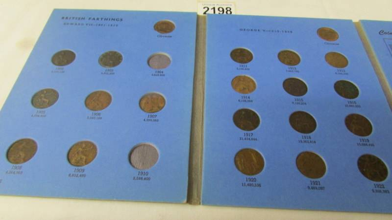 5 various Whitman folders of English coins, part filled. - Image 4 of 6