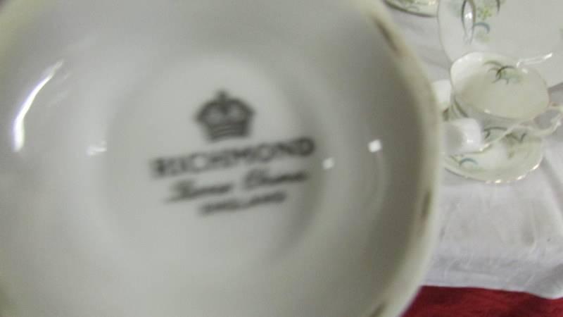 An 18 piece Richmond bone china tea set. - Image 4 of 4