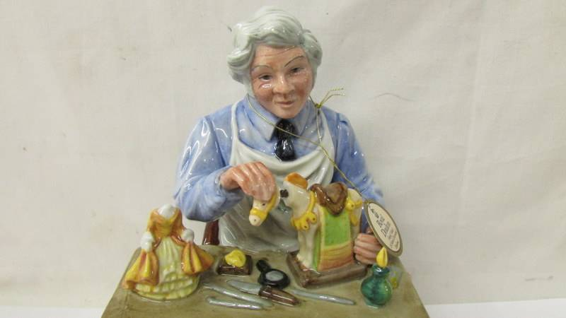 A Royal Doulton figure - The China Repairer HN2943. - Image 2 of 3
