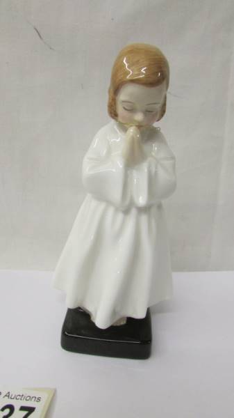 Two Royal Doulton figurines - Darling HN1985 and Bedtime HN1978. - Image 4 of 5