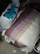 A good quilt, seat pads etc.