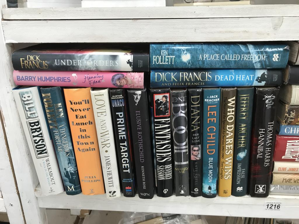 A good lot of hardback books including signed copies by Ian Rankin, Judith Durham, - Image 2 of 11