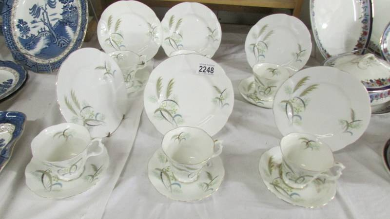 An 18 piece Richmond bone china tea set.