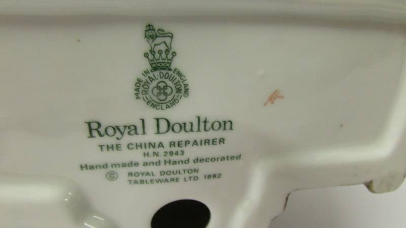 A Royal Doulton figure - The China Repairer HN2943. - Image 3 of 3