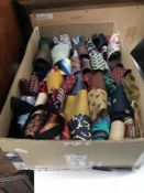 A good selection of Gent's ties