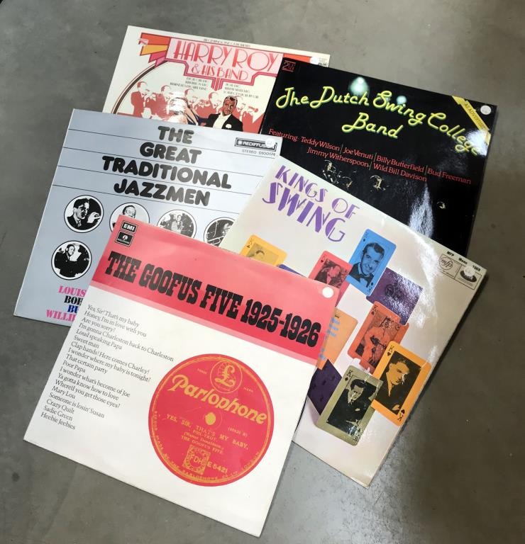 4 boxes/crates of LP records - Image 3 of 4