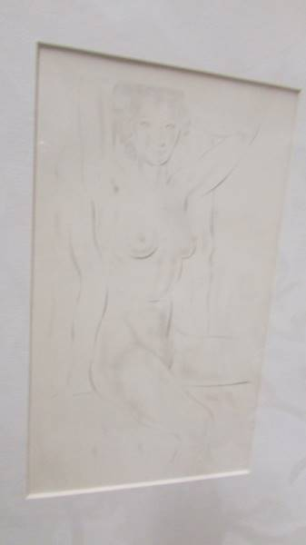 Eric Gill (1882-1940) Collection of 6 female nude life drawings prints/plates published by Hague & - Image 6 of 7