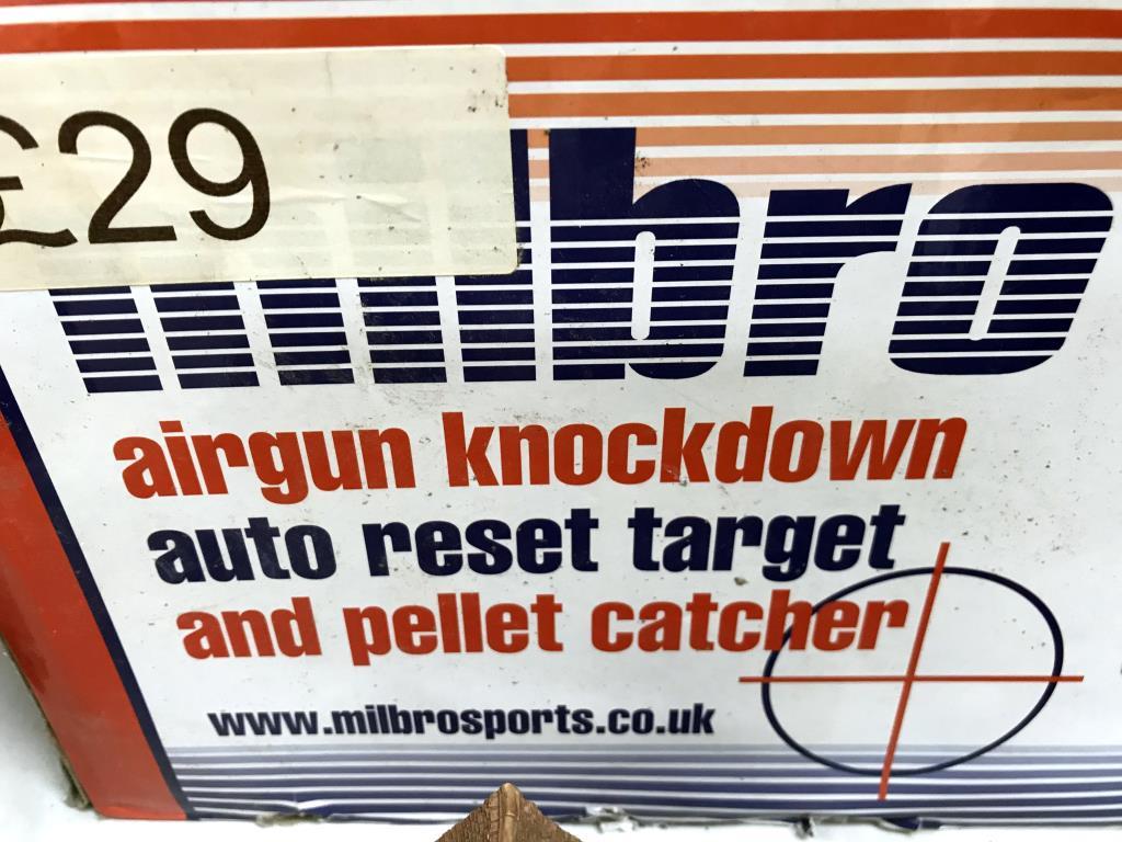 A boxed Milbro air gun knock down target - Image 4 of 4