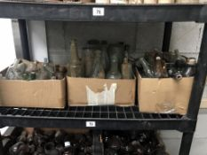 3 boxes of various size bottles (will need cleaning)