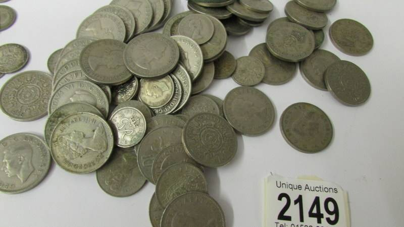 A mixed lot of coins including 110 grams of silver. - Image 3 of 3