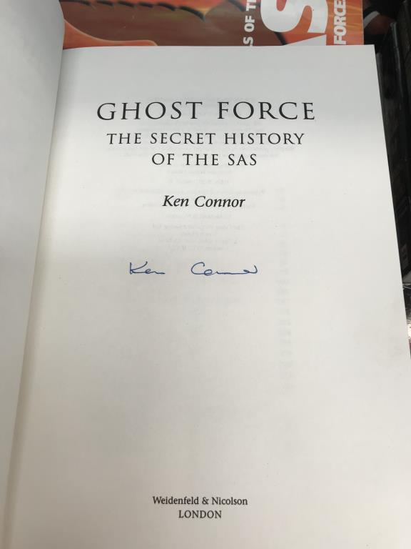 A good lot of war related books including 'Ghost Force' the secret history of the SAS, - Image 11 of 11