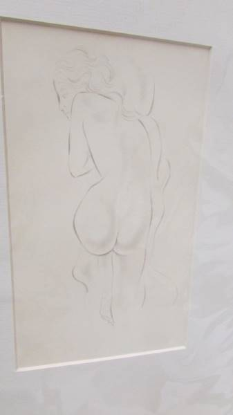 Eric Gill (1882-1940) Collection of 6 female nude life drawings prints/plates published by Hague & - Image 7 of 7