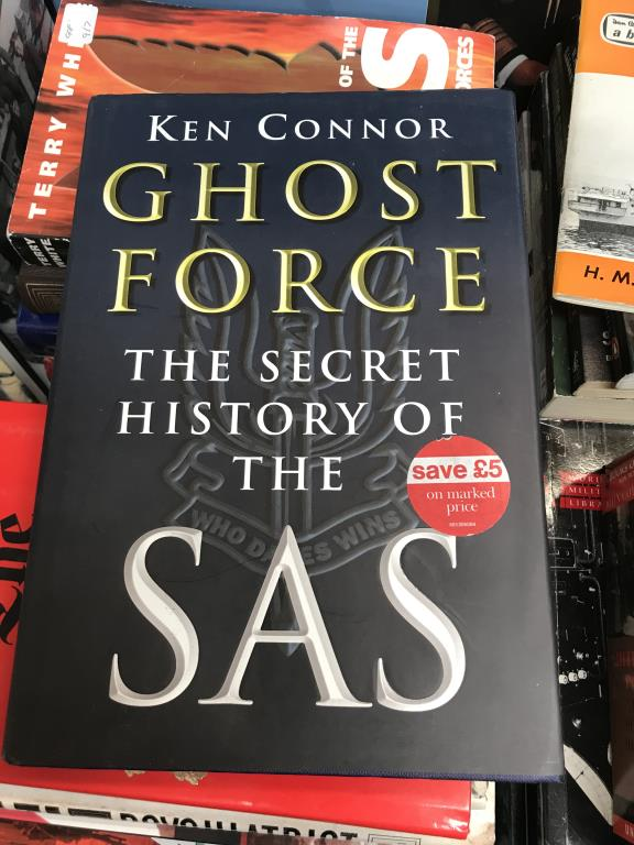 A good lot of war related books including 'Ghost Force' the secret history of the SAS, - Image 10 of 11