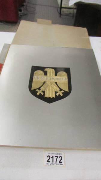 A 1933 'Die Reichswehr' German military cigarette card album, complete.