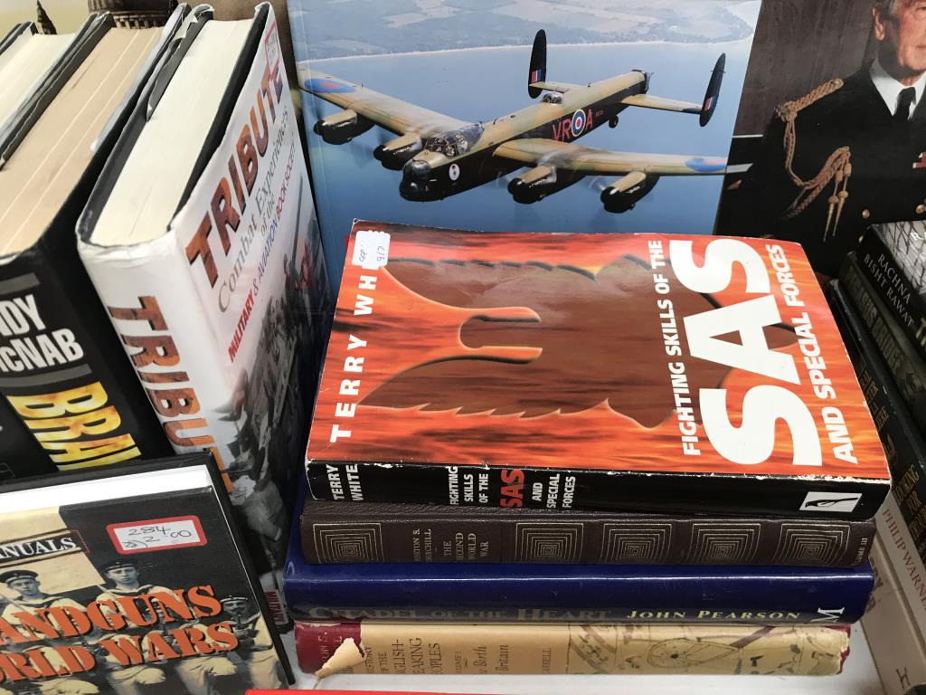 A good lot of war related books including 'Ghost Force' the secret history of the SAS, - Image 5 of 11