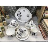 A Royal Albert Queens Messenger tea set