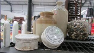 A good lot of stoneware