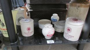 A good quality lot of jars & jugs etc.
