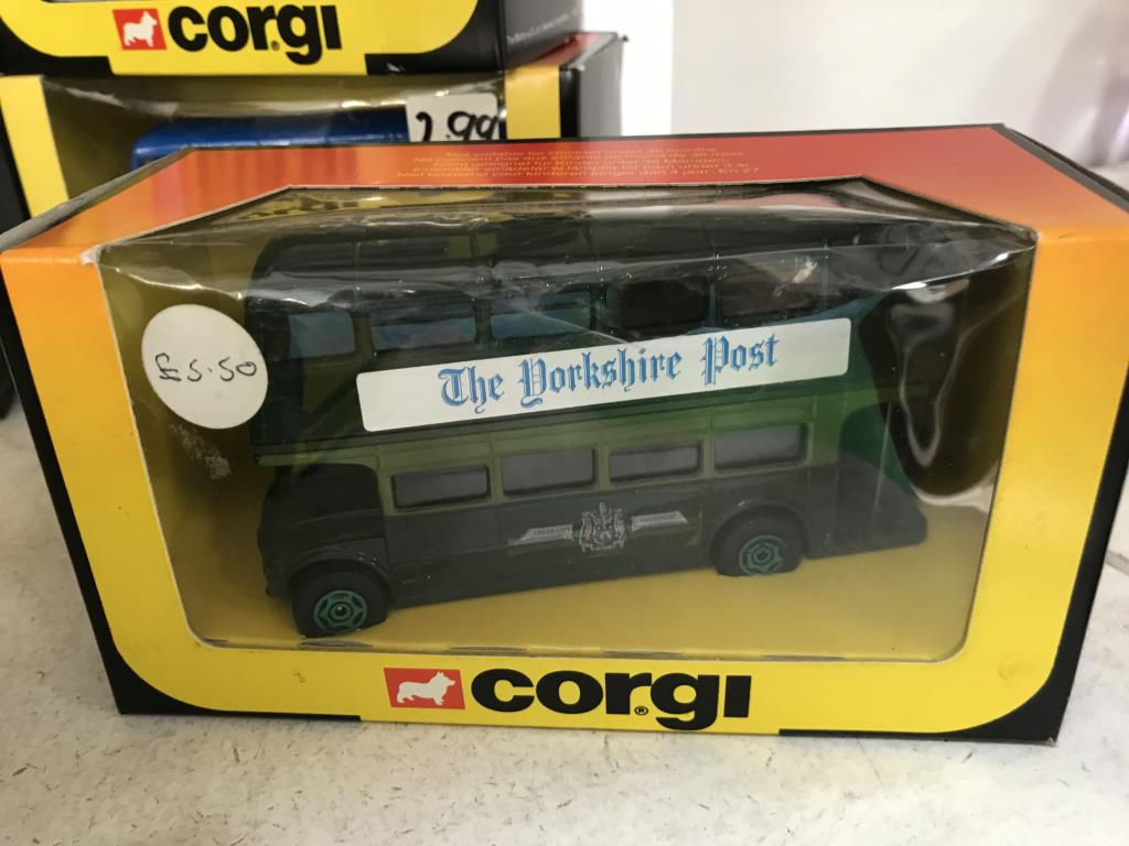 10 x 1980's Corgi Routemaster buses various model numbers & livery's - Image 5 of 8