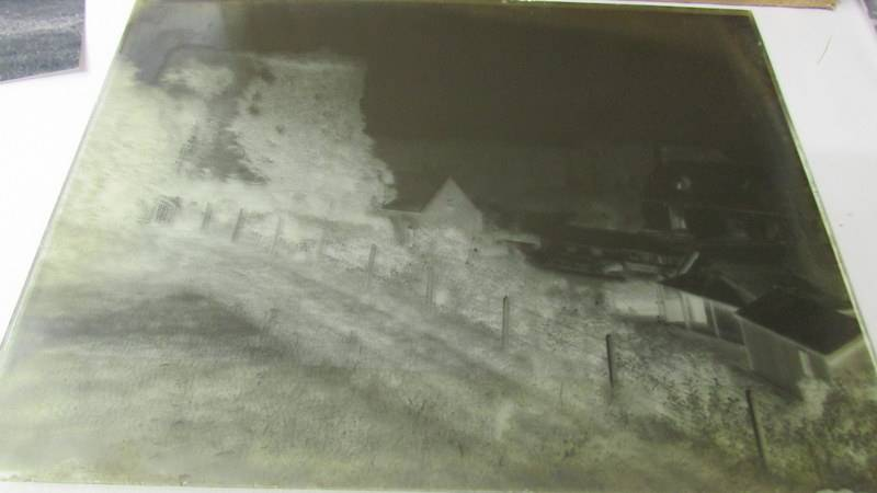Glass negatives taken c. 1890-1918, mainly around Usk, Monmouthshire. - Image 4 of 7