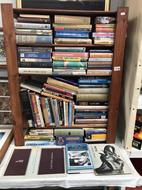 A good lot of India related books including signed copy of Lal Bahadur Shastri (signed by C.P.