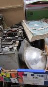 A collection of 60's/70's car manuals including a genuine BL Rover SDI workshop manual,