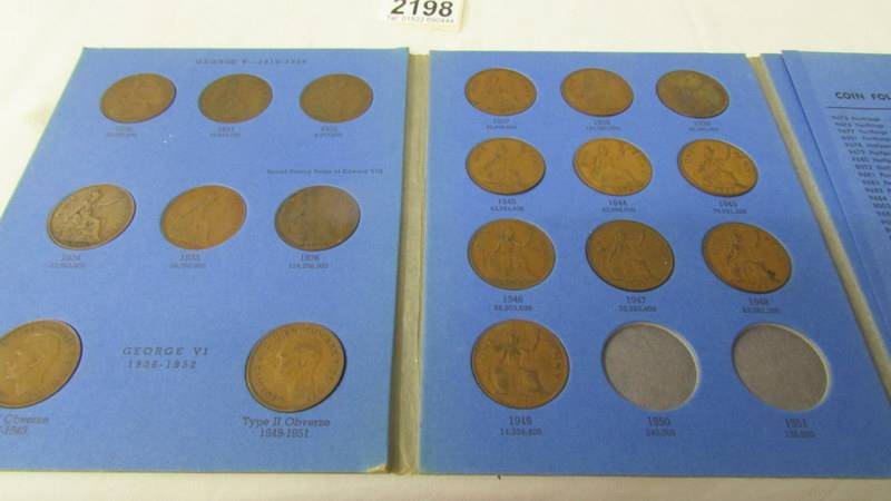 5 various Whitman folders of English coins, part filled. - Image 6 of 6