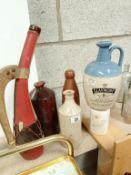 A good lot of jugs & bottles etc.
