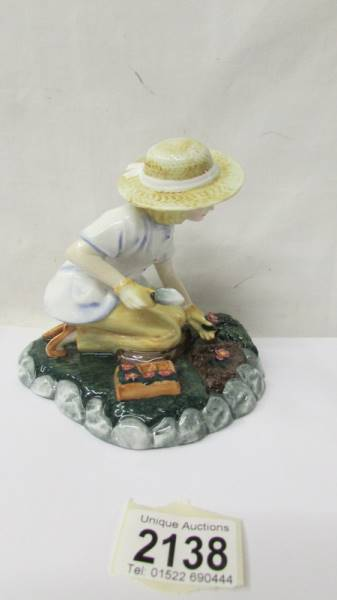 A Royal Doulton figurine - Gardening Time HN3401. - Image 2 of 3