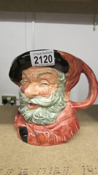 2 Royal Doulton character jugs - Old Salt D6551 and Falstaff D6287. - Image 4 of 5