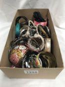A box of bangles/bracelets