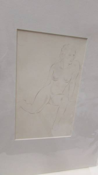 Eric Gill (1882-1940) Collection of 6 female nude life drawings prints/plates published by Hague & - Image 4 of 7