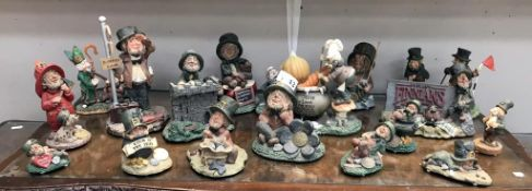 A good selection of Blarney luck of the Irish ornaments