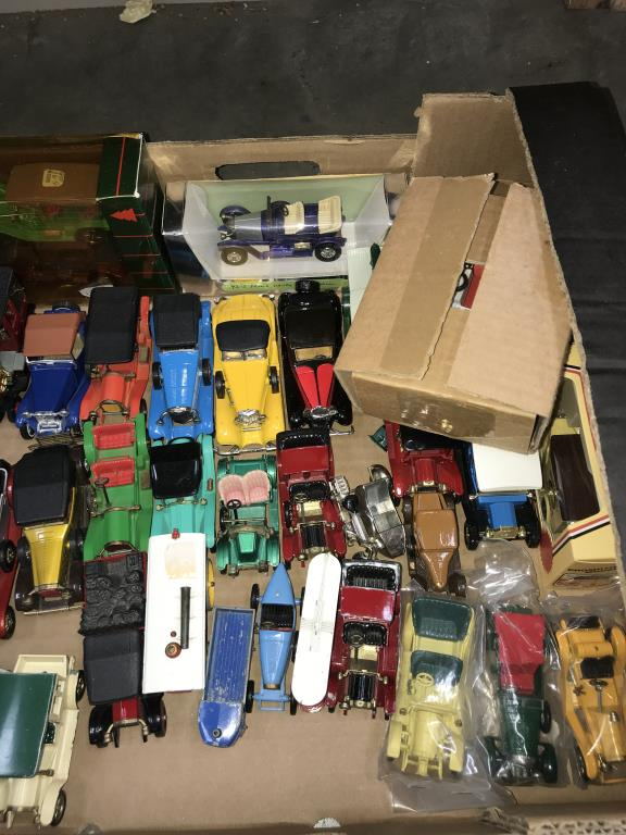 A good selection of unboxed 1960/70/80's Matchbox models of yesteryear including Lledo - Image 3 of 4