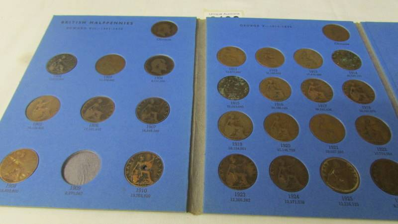 5 various Whitman folders of English coins, part filled. - Image 3 of 6
