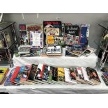 A good lot of football related books including signed copy of 'Cloughie walking on water,