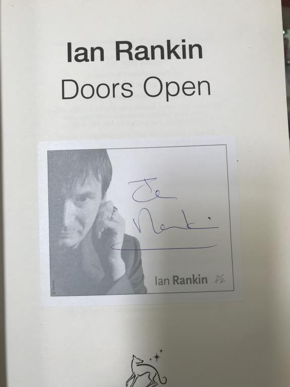 A good lot of hardback books including signed copies by Ian Rankin, Judith Durham, - Image 5 of 11