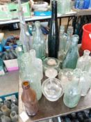A good lot of Lincoln & other decorative bottles
