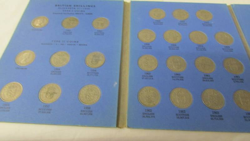 5 various Whitman folders of English coins, part filled. - Image 5 of 6