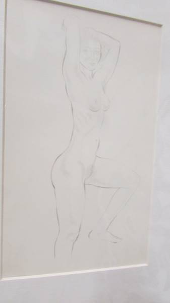 Eric Gill (1882-1940) Collection of 6 female nude life drawings prints/plates published by Hague & - Image 3 of 7