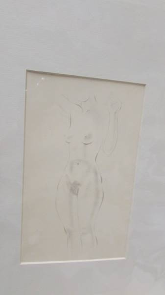 Eric Gill (1882-1940) Collection of 6 female nude life drawings prints/plates published by Hague & - Image 5 of 7