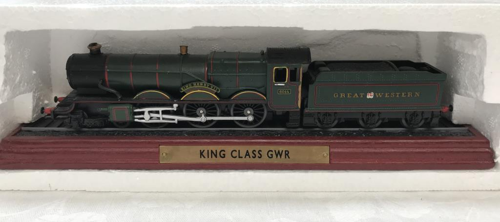 8 x '00' gauge replica model steam trains (5 boxed & 3 unboxed ornamental locomotives) - Image 9 of 10