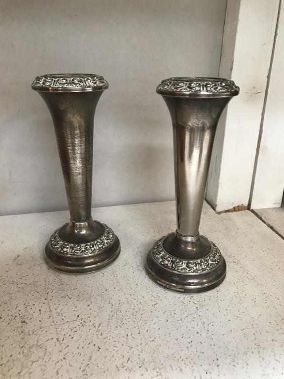 A Victorian copper half gallon jug 7 quantity of silver plate, - Image 4 of 5