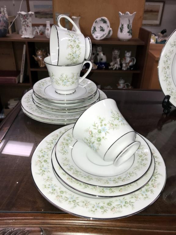 A Noritake Savannah 28 piece tea set - Image 2 of 5