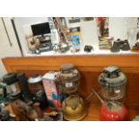 A selection of Tilley lamps etc.