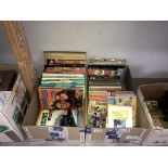 A good selection of children's books & annuals including Star Trek 1977 & Ladybird books etc.