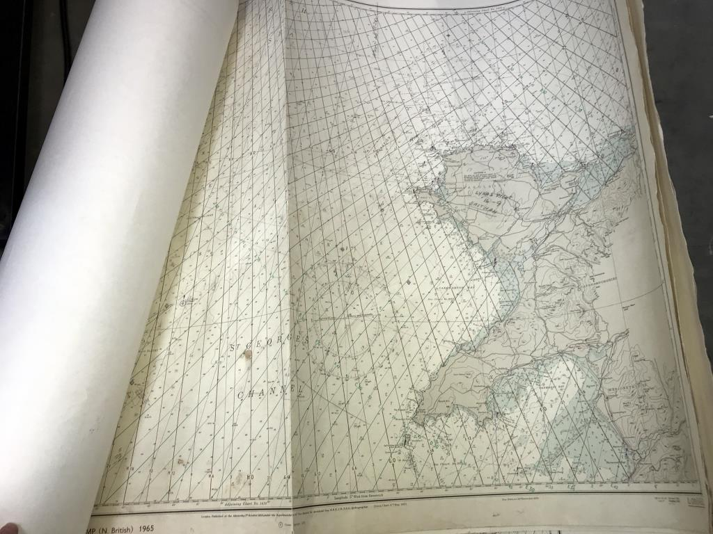 11 Decca large chain maps, - Image 2 of 2